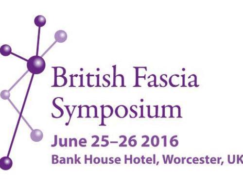 The British Fascia Symposium – 25th & 26th June 2016