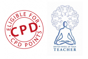 cpd and british wheel of yoga teacher