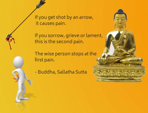 Buddahs second arrow