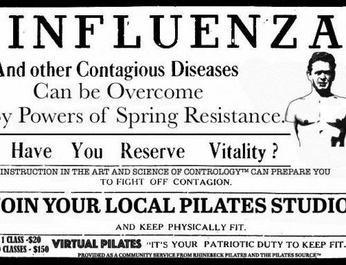Virtual Pilates, Joe & influenza